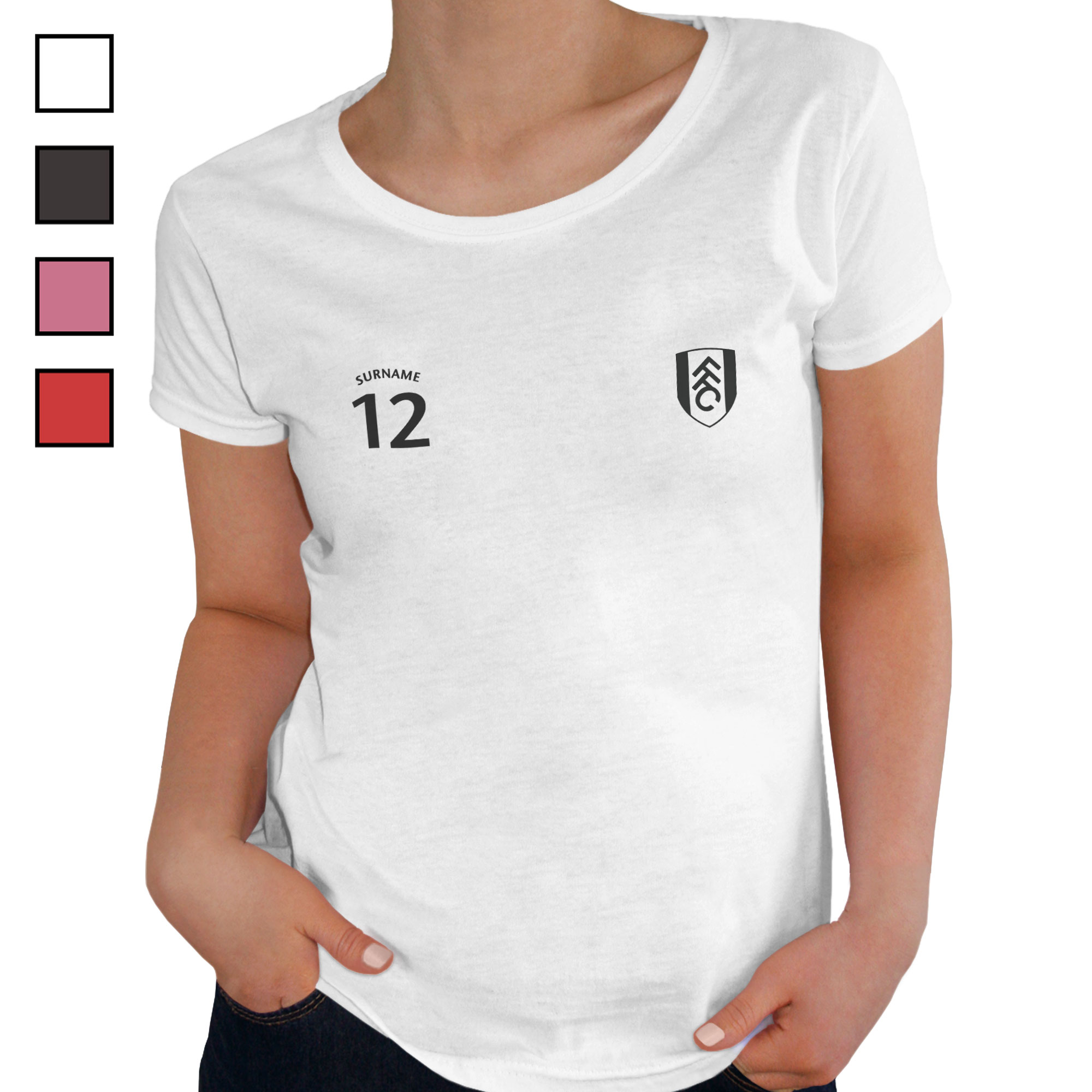Fulham FC Ladies Sports T-Shirt