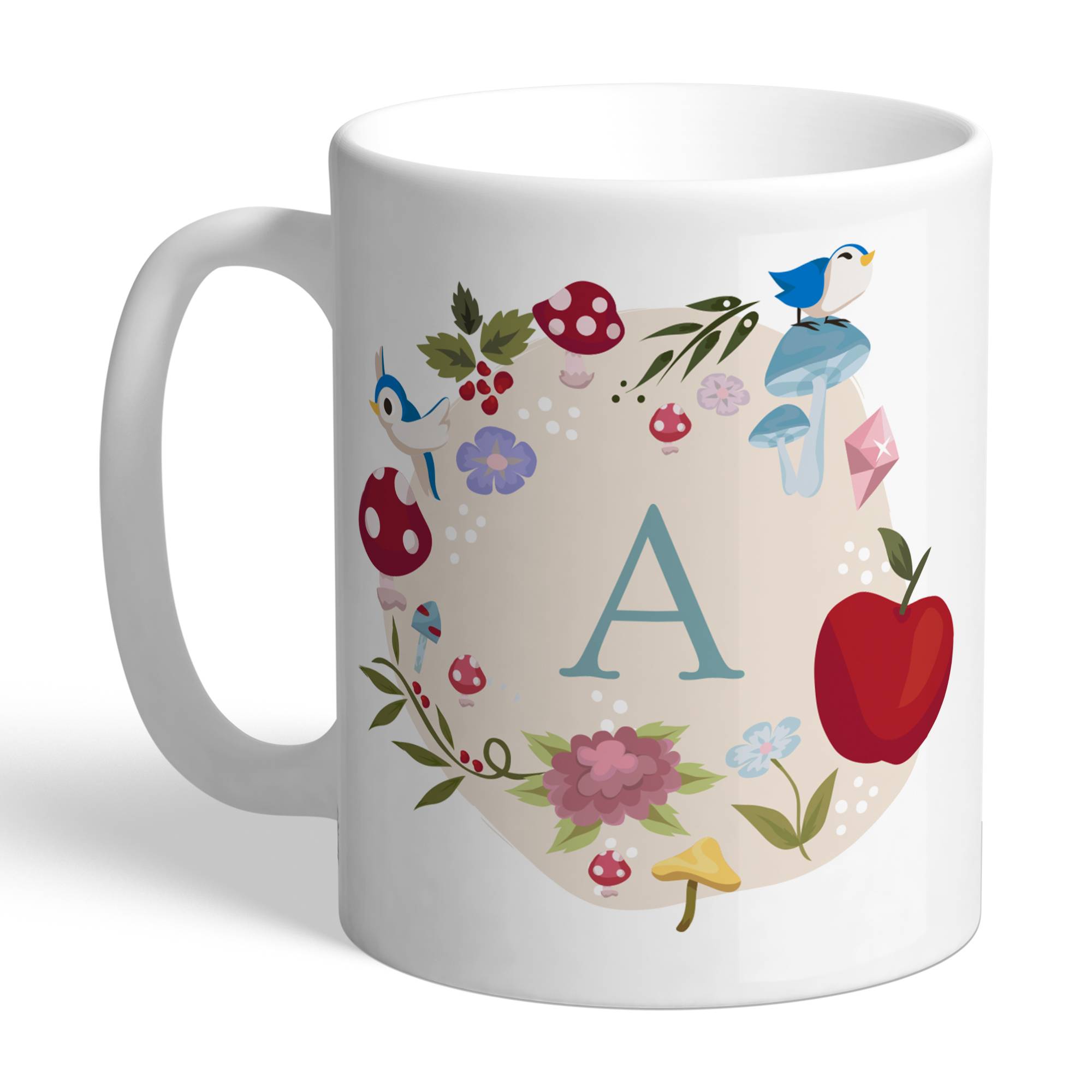 Disney Princess Snow White Initial Mug