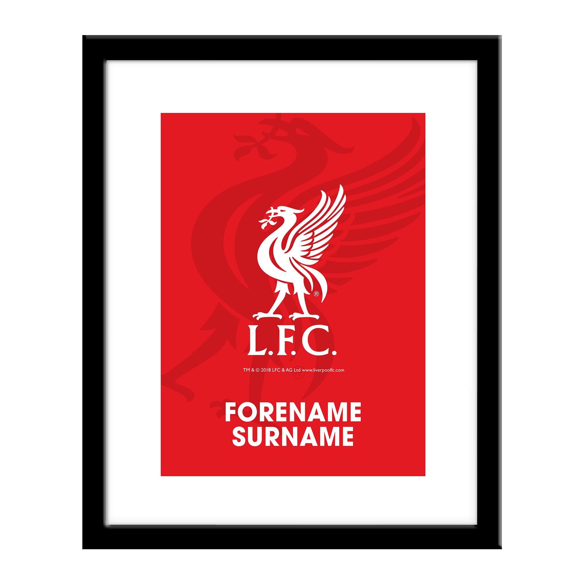 Liverpool FC Bold Crest Print