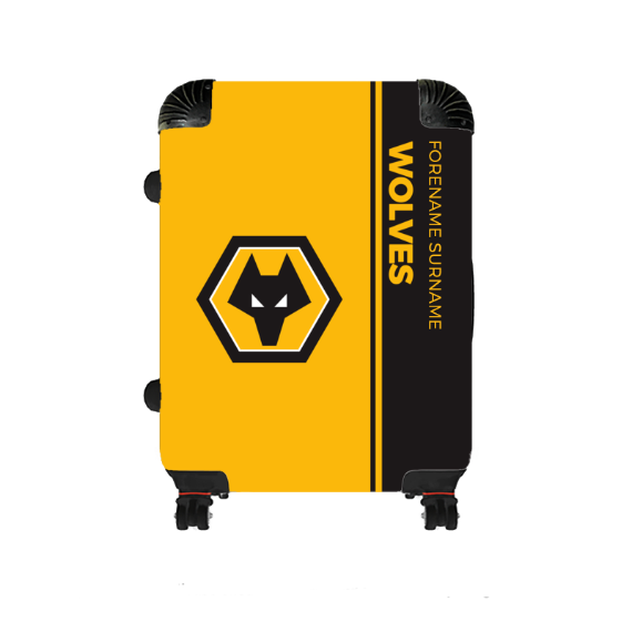 Wolverhampton Wanderers FC Crest Medium Suitcase