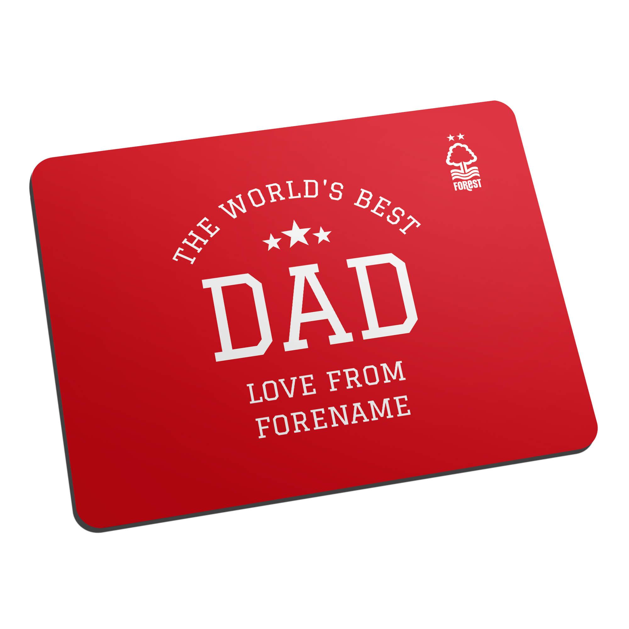 Nottingham Forest FC World's Best Dad Mouse Mat