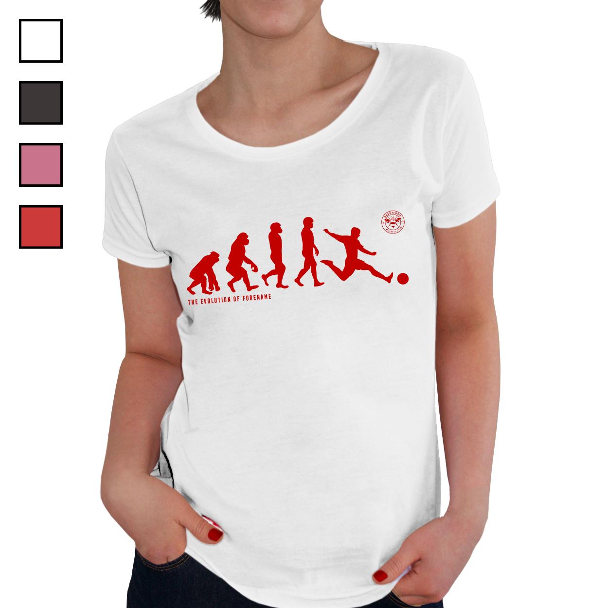 Brentford Evolution Ladies T-Shirt
