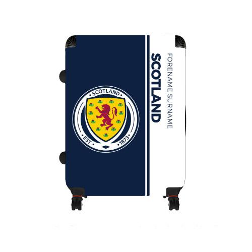 Scotland Crest Large Suitcase