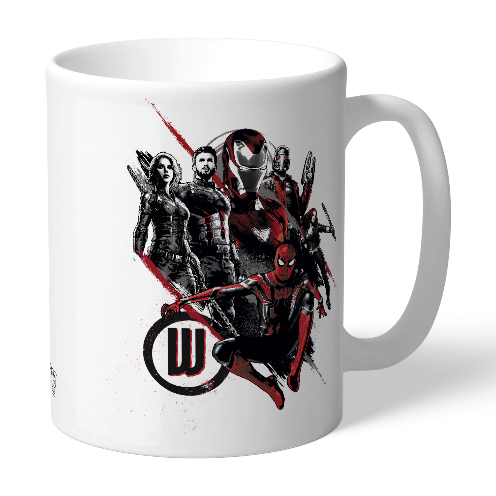 Marvel Infinity War Group Sketch Mug