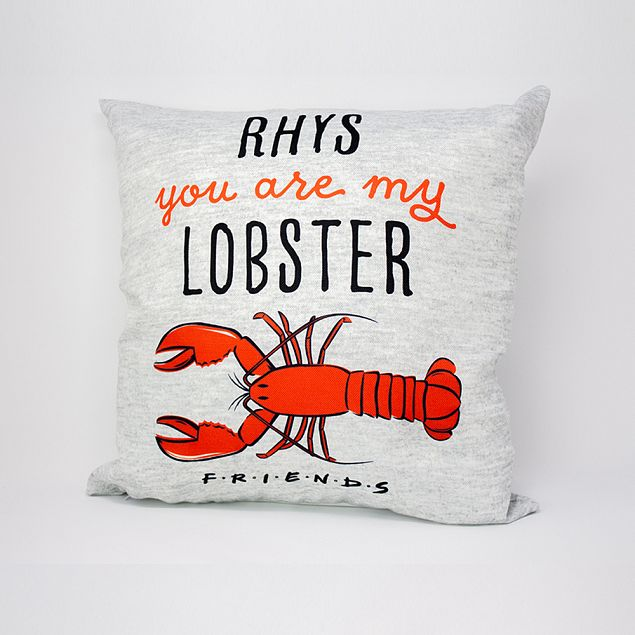 Friends™ Lobster Personalised Cushion