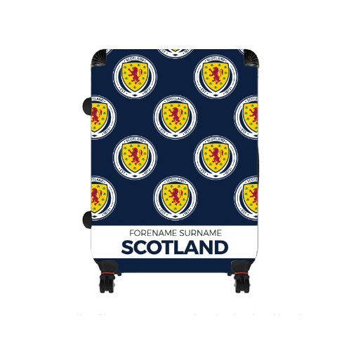 Scotland Mini Crest Large Suitcase