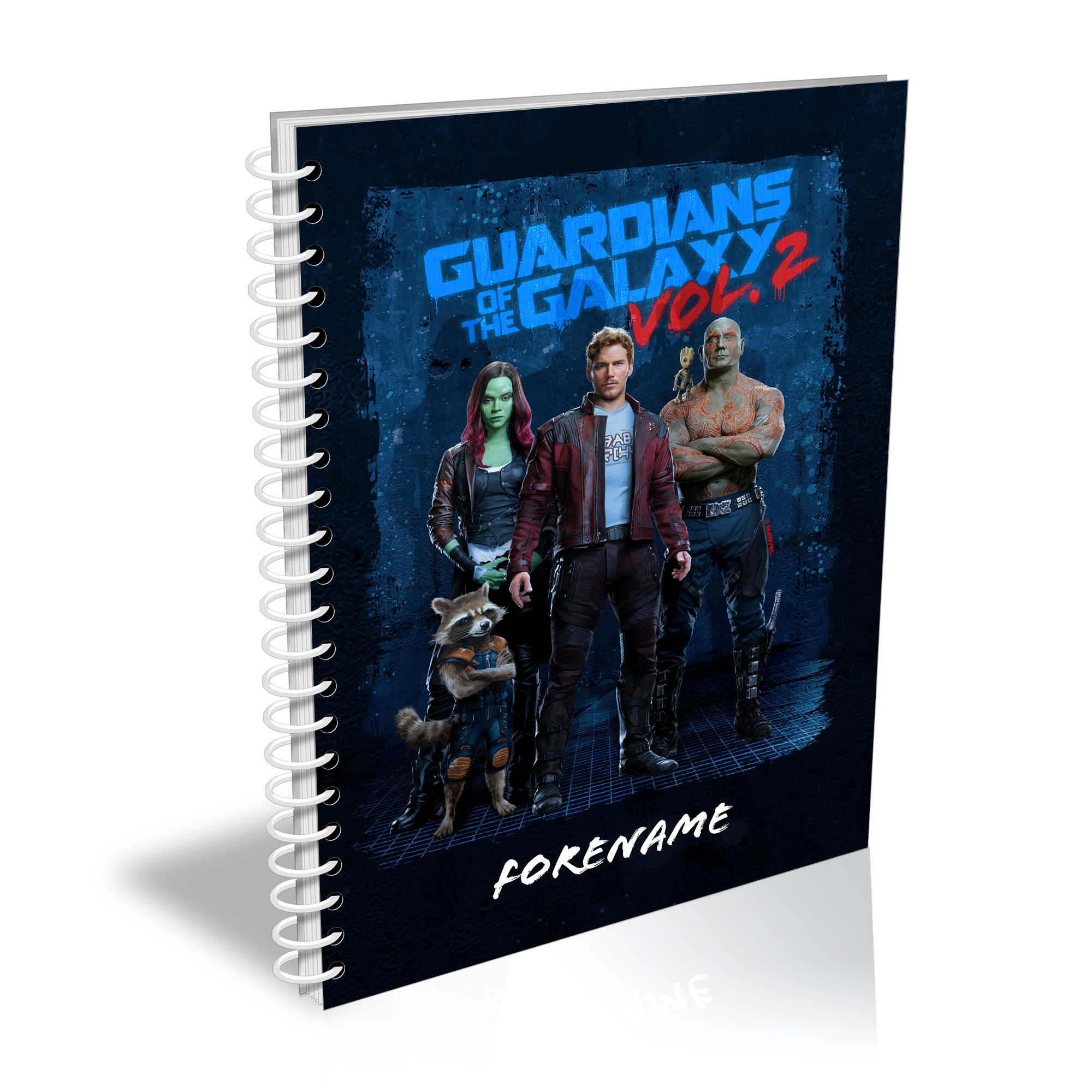 Marvel Guardians of the Galaxy Grunge A5 Notepad