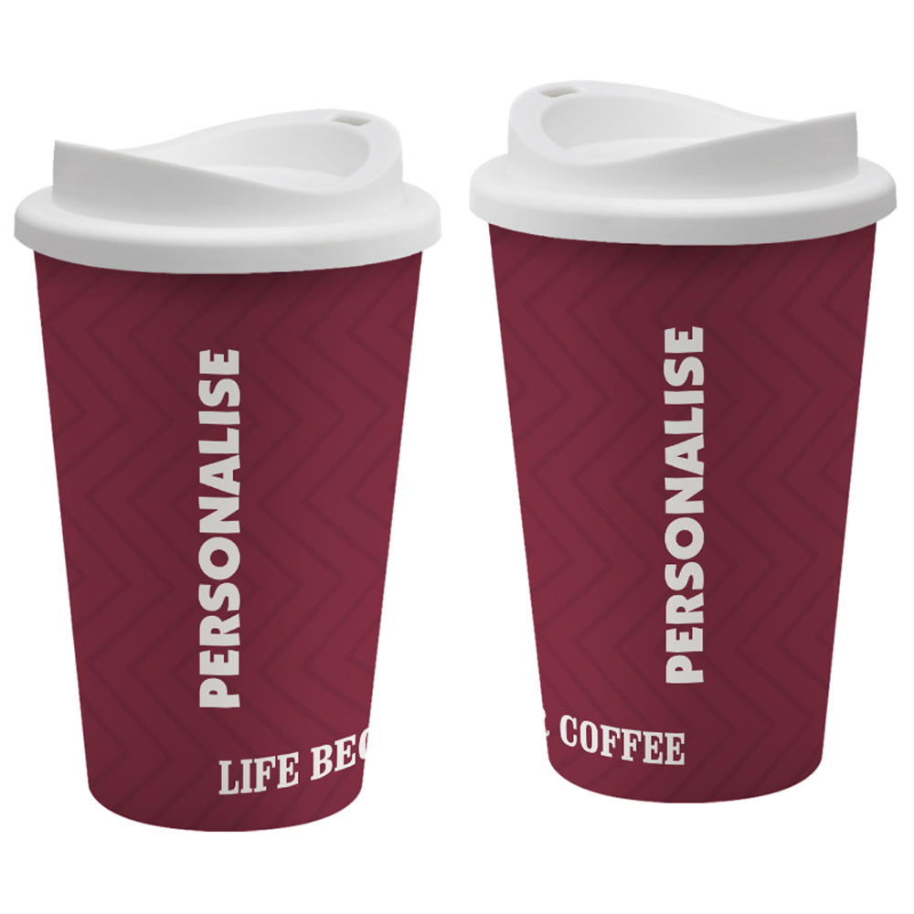 Coffeehouse Express Style Reusable Cup