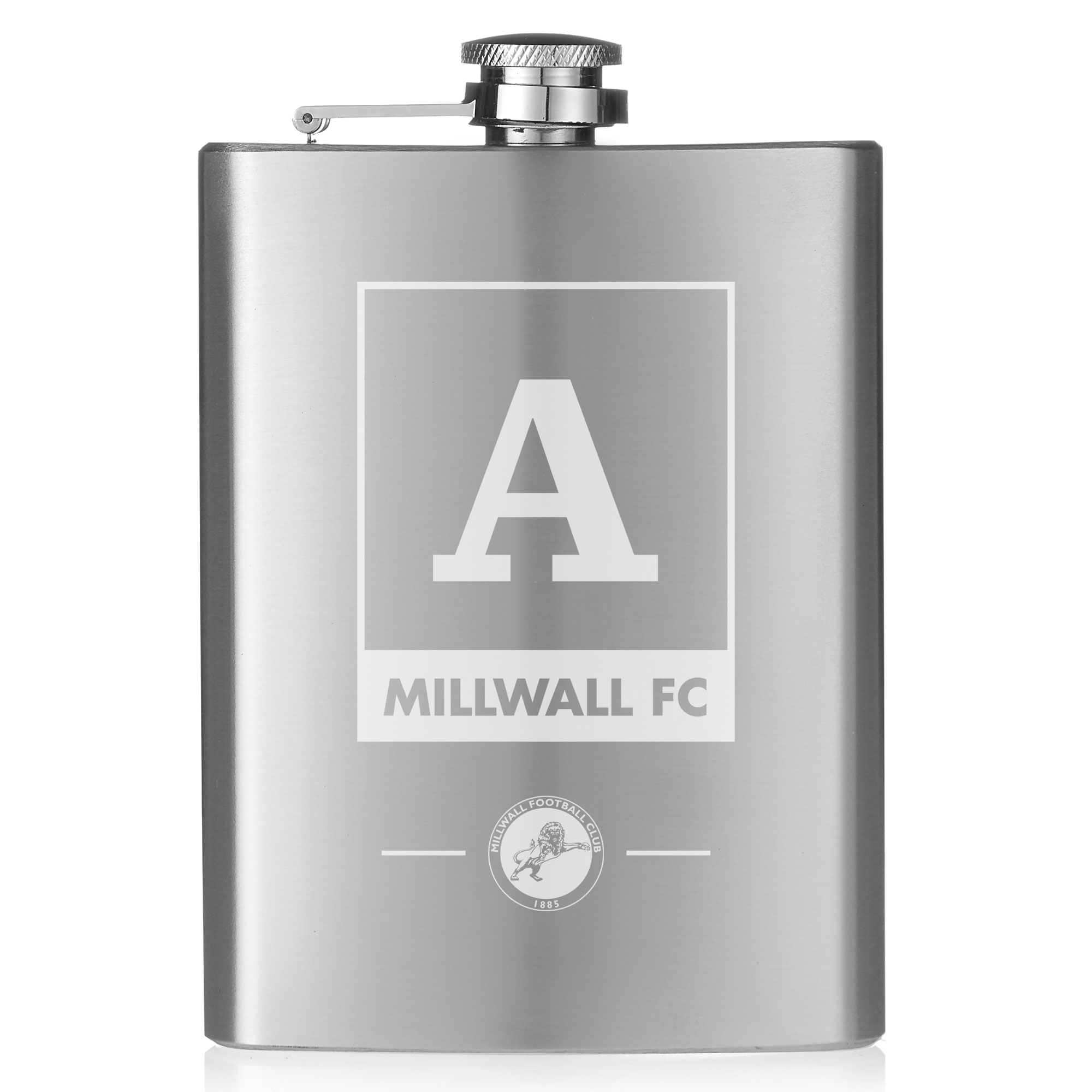 Millwall Monogram Hip Flask