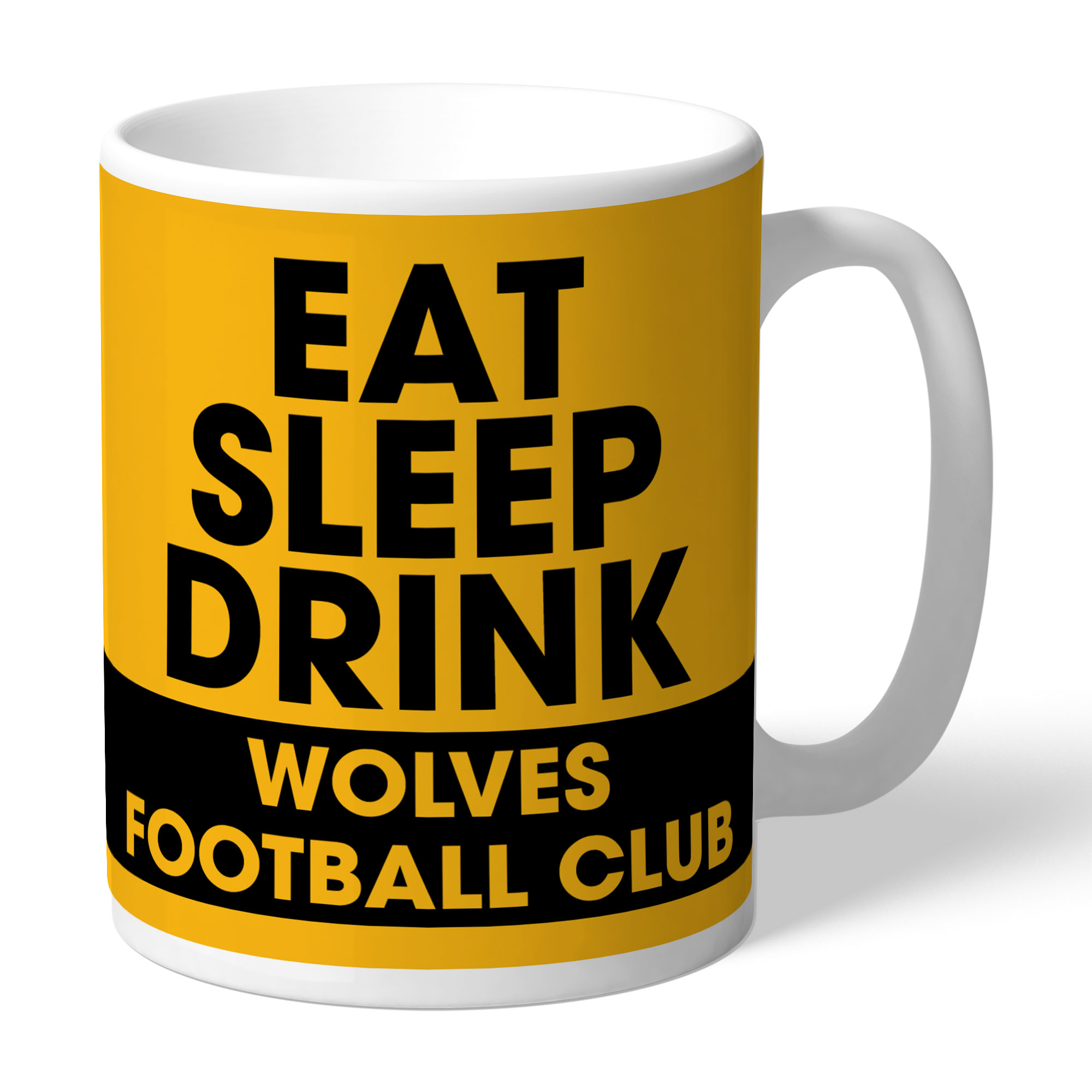 Wolves Eat Sleep Drink Mug