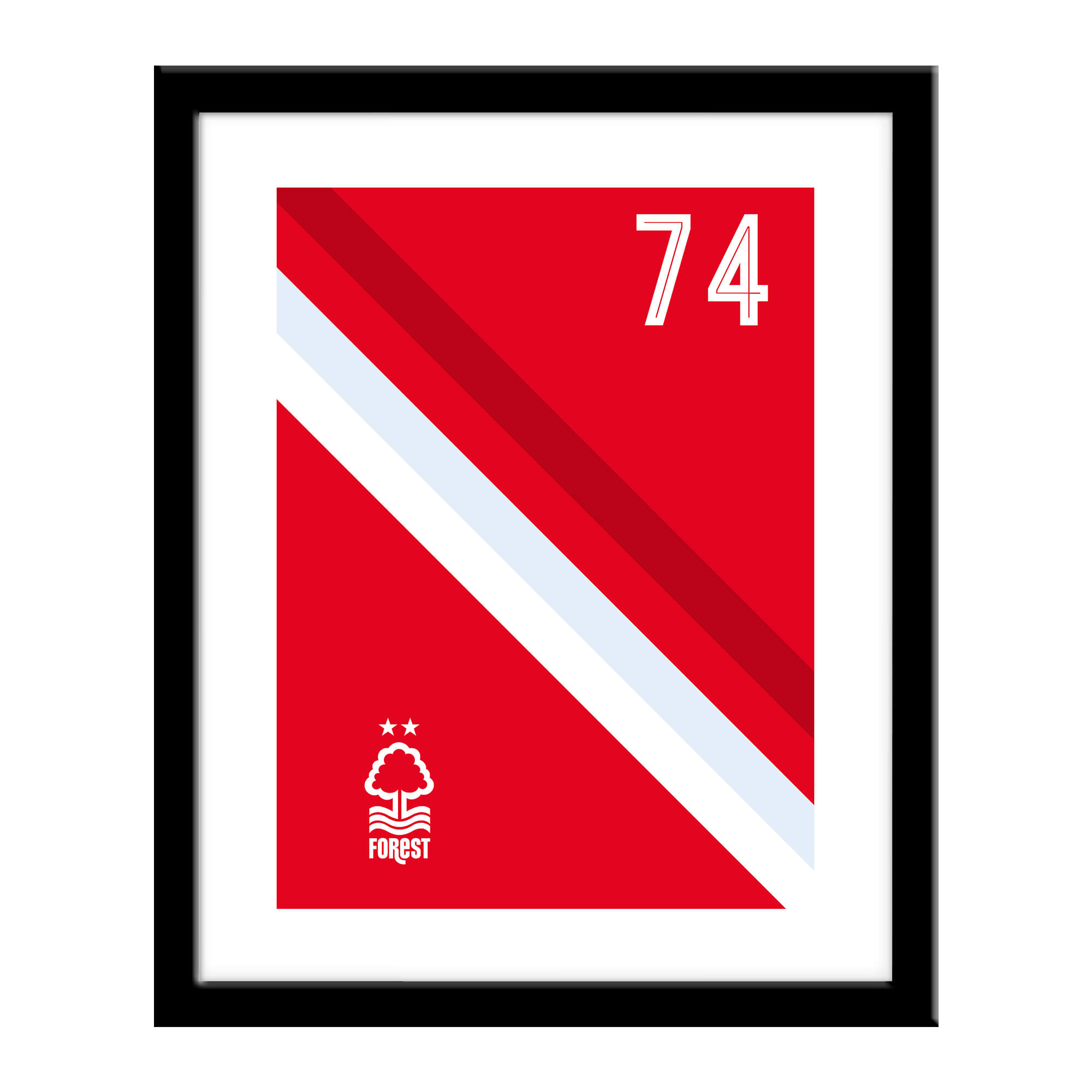 Nottingham Forest FC Stripe Print