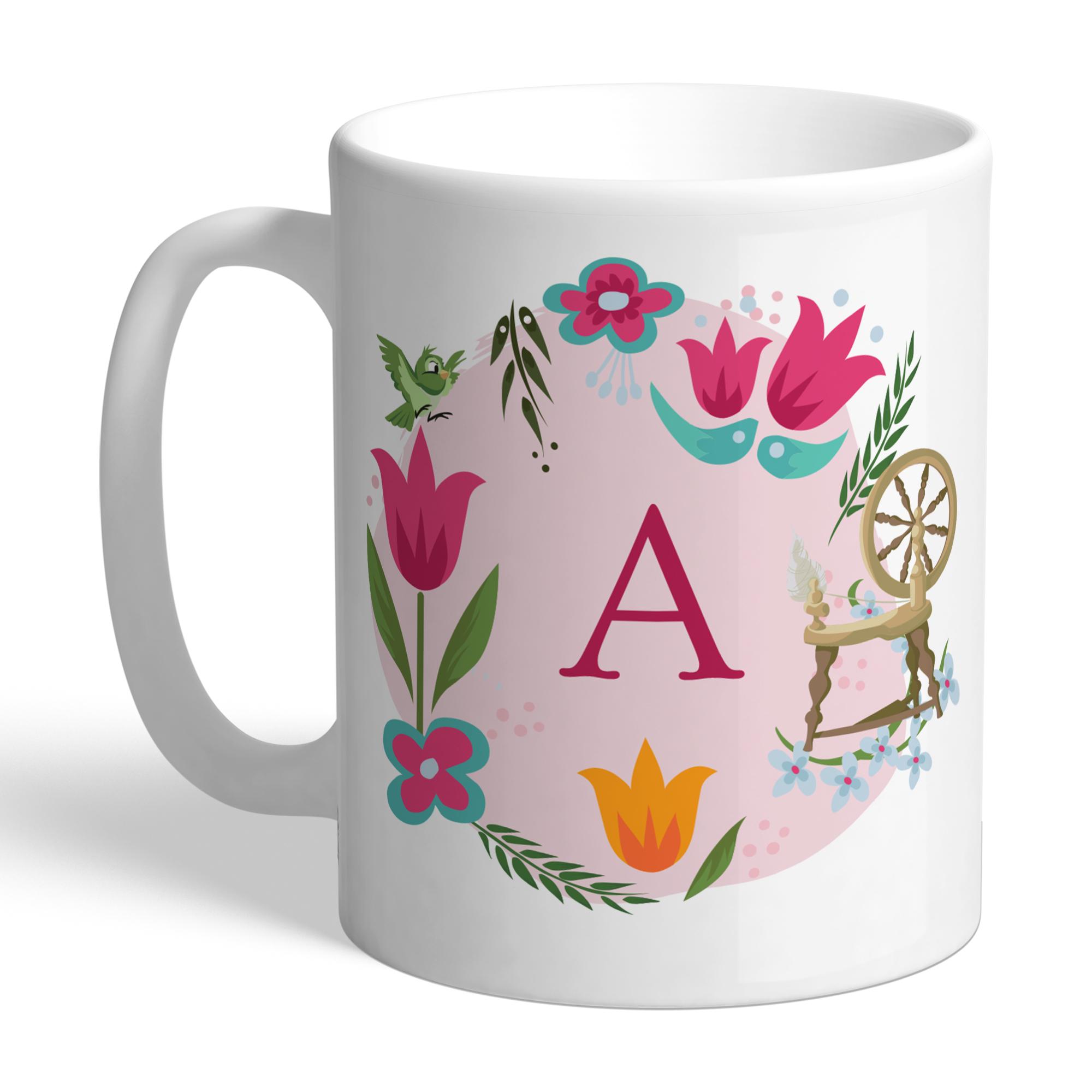 Disney Princess Aurora Initial Mug