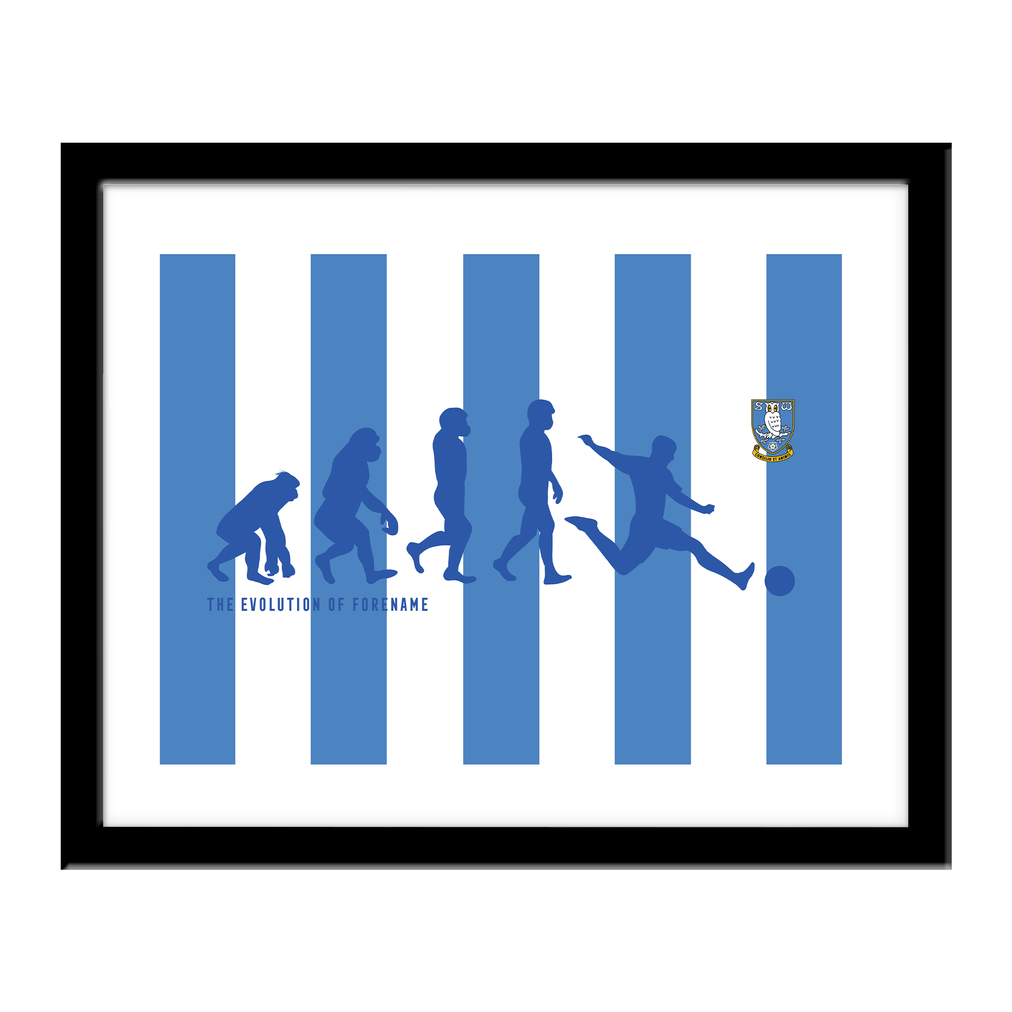 Sheffield Wednesday Evolution Print
