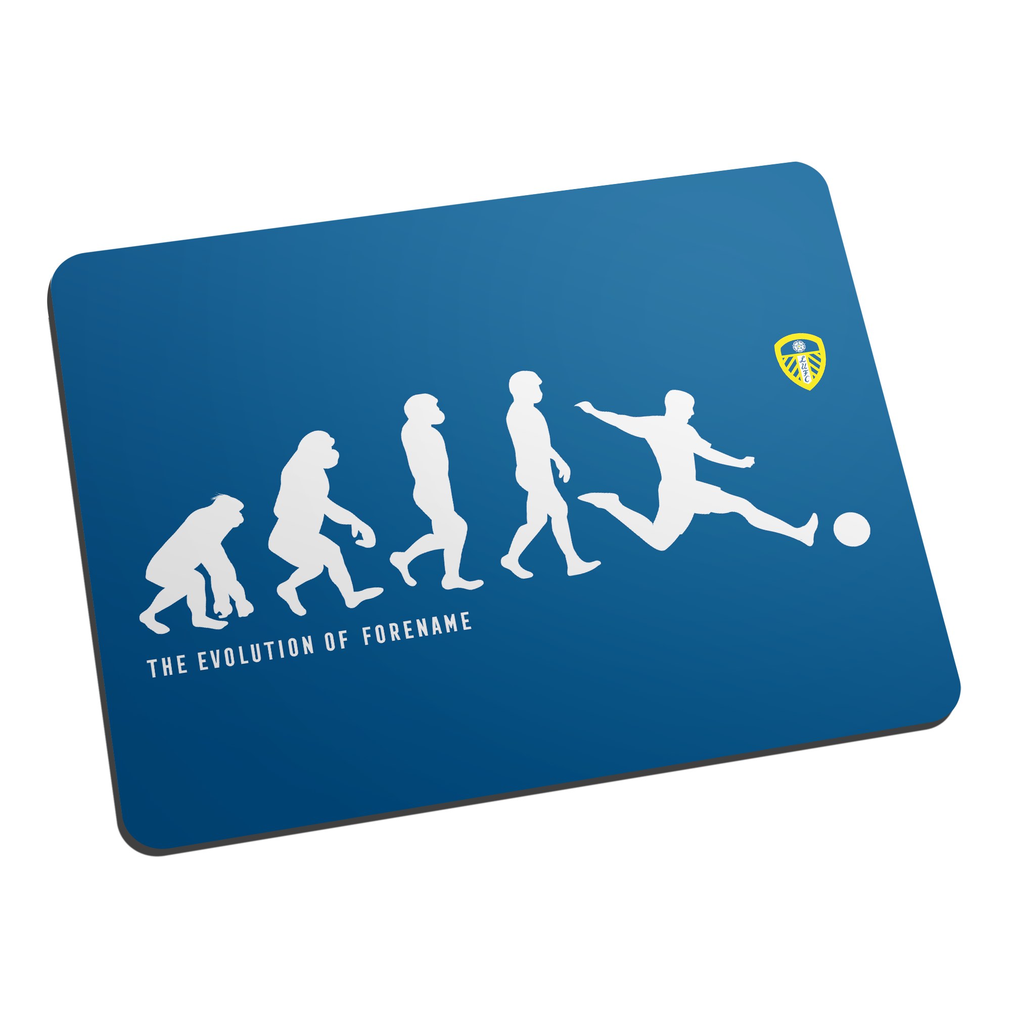 Leeds United FC Evolution Mouse Mat