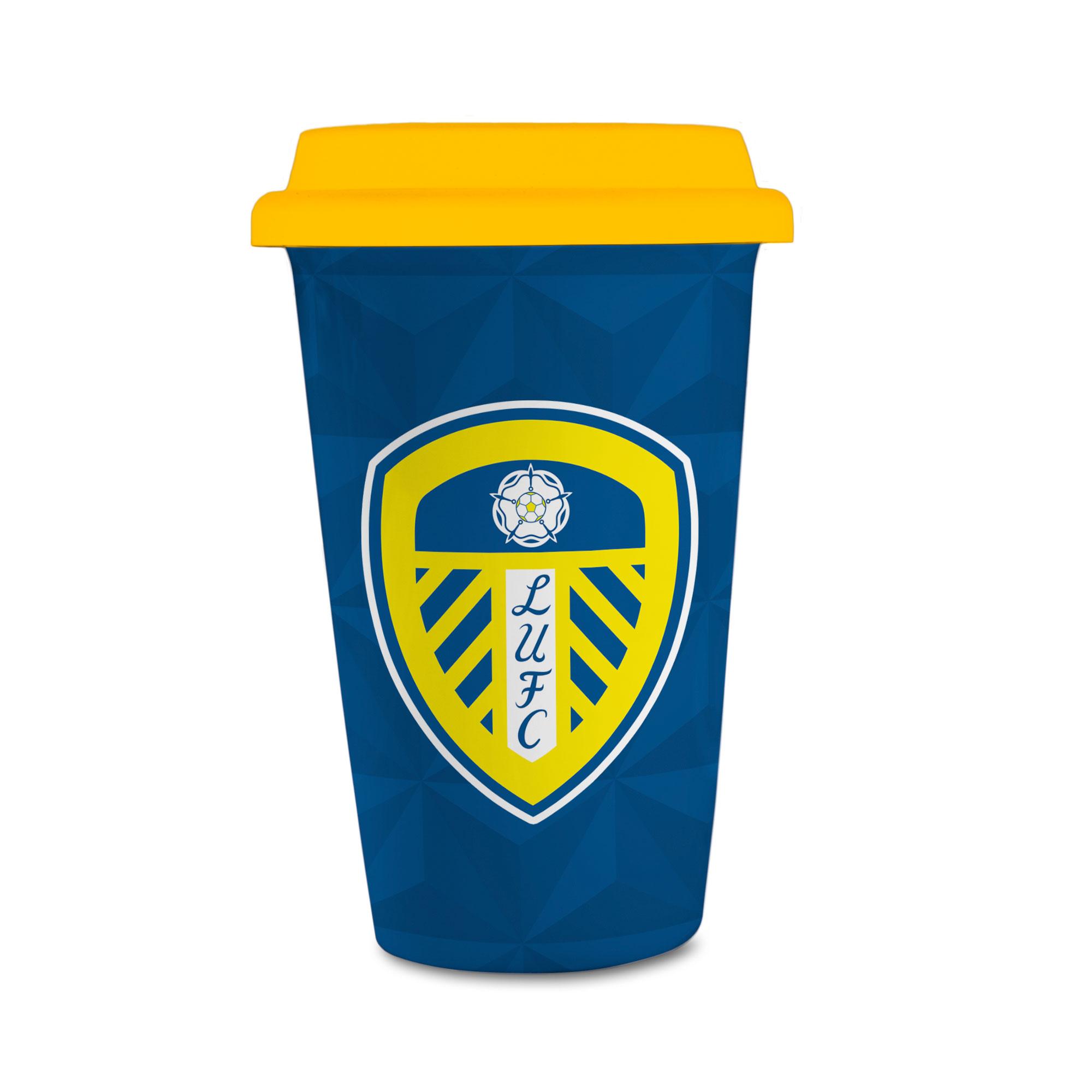 Leeds United FC Crest Reusable Cup
