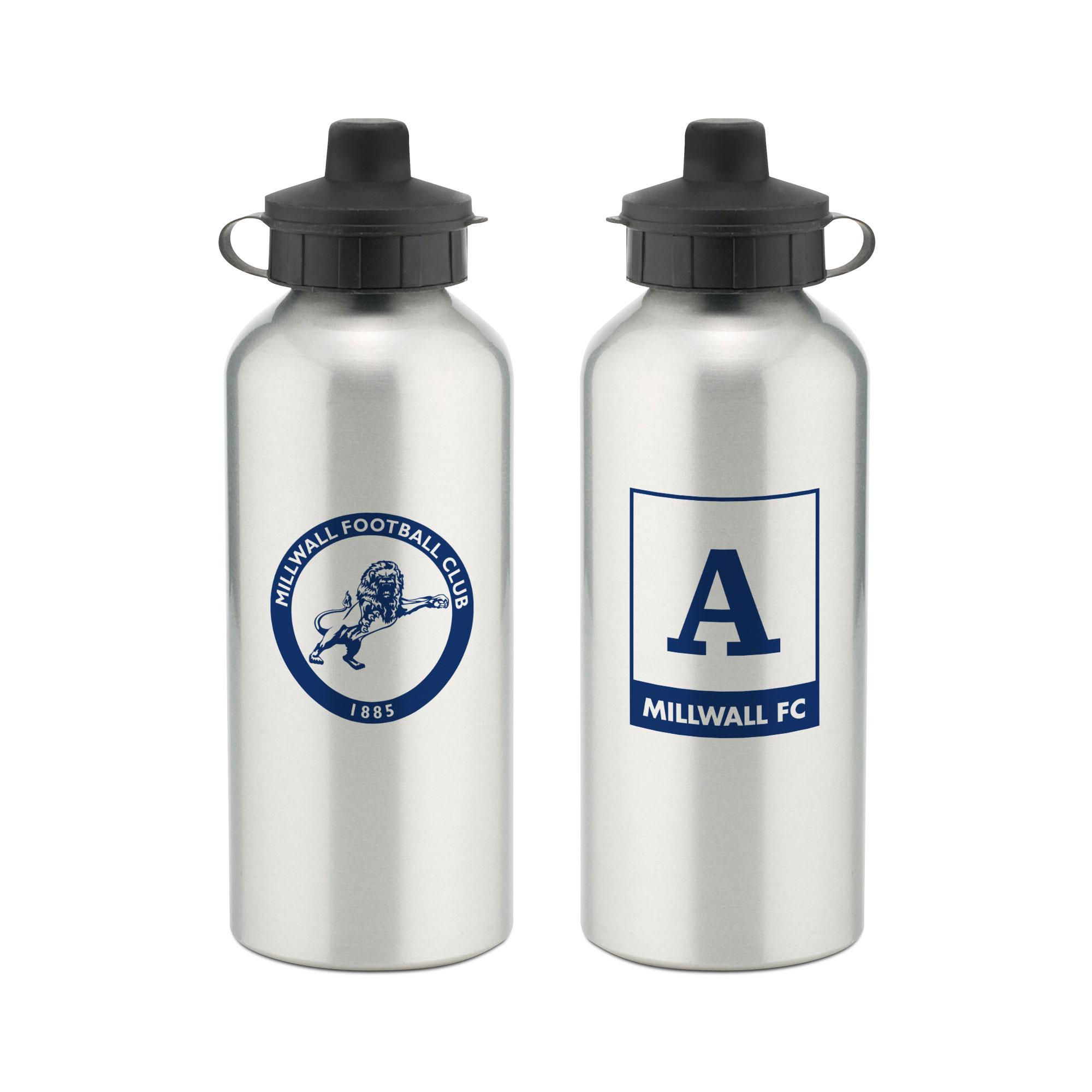 Millwall Monogram Aluminium Water Bottle