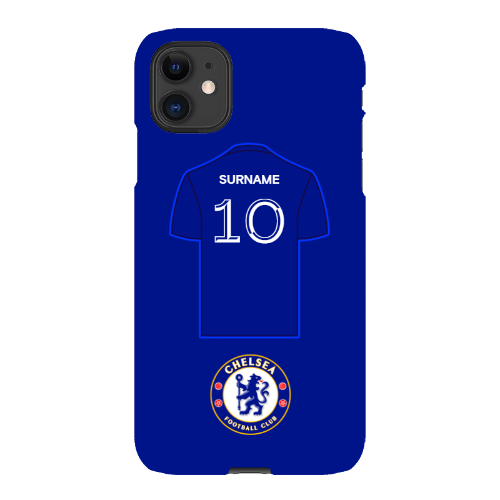 Chelsea FC Shirt iPhone 11 Phone Case
