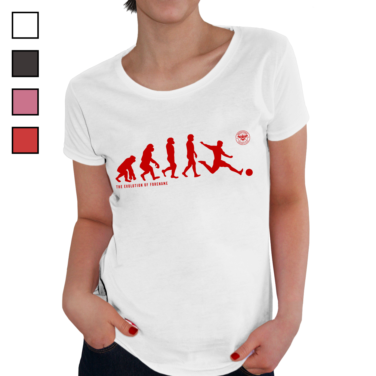 Brentford Evolution Ladies T-Shirt