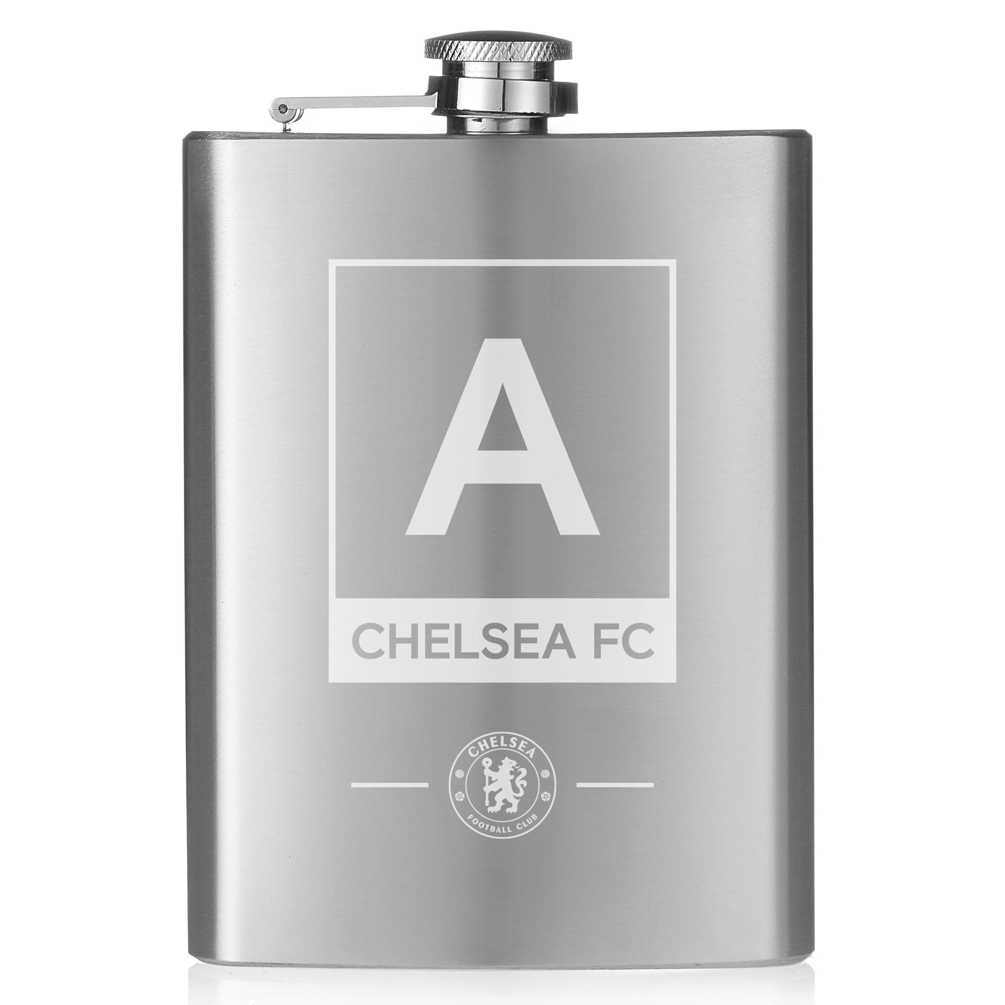 Chelsea FC Monogram Hip Flask