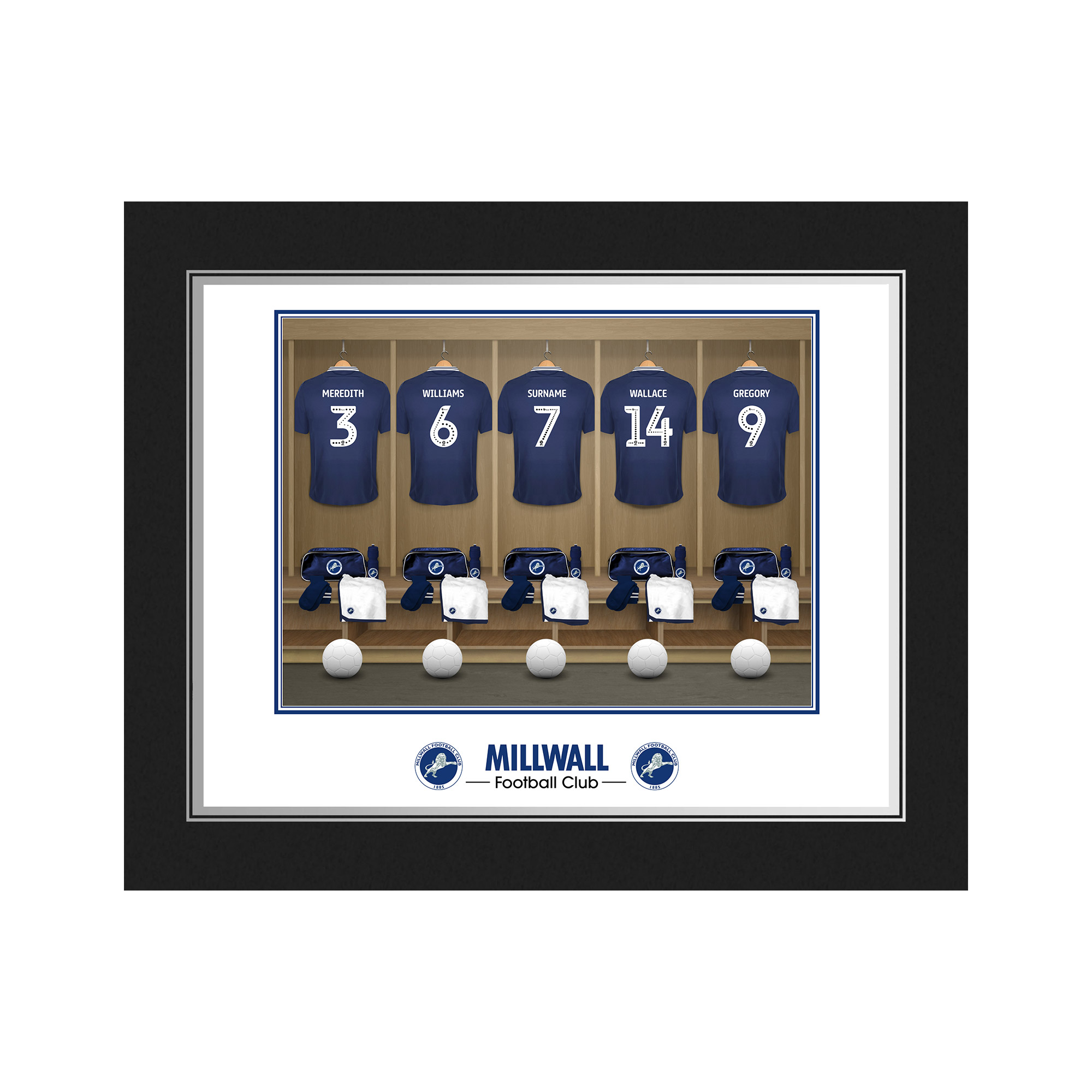 Millwall FC Dressing Room Photo Folder