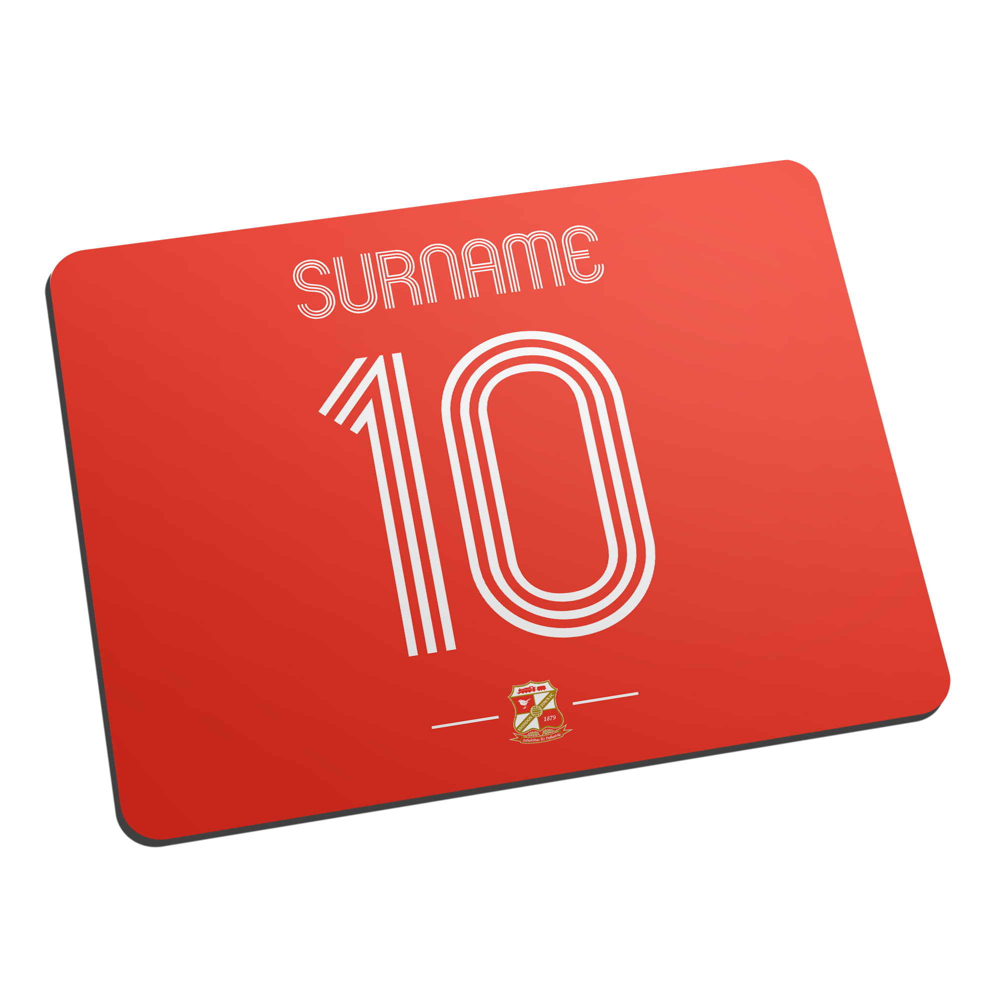 Swindon Town Retro Shirt Mouse Mat