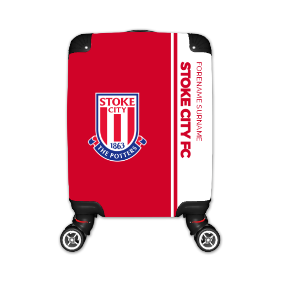 Stoke City FC Crest Kid's Suitcase