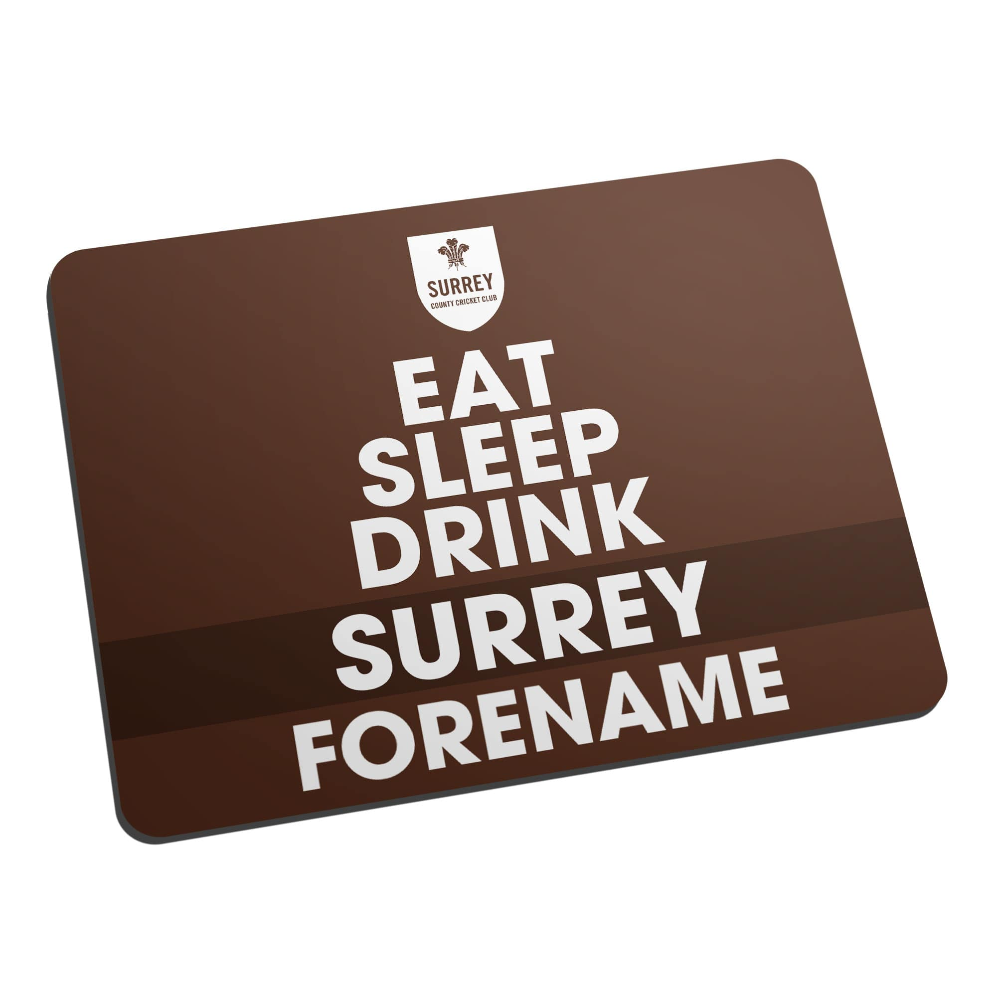 Surrey CCC Eat Sleep Drink Mouse Mat