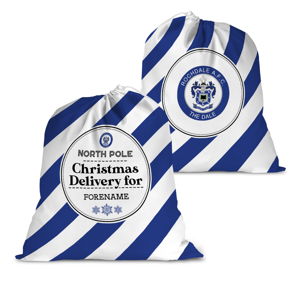 Rochdale AFC Christmas Delivery Santa Sack