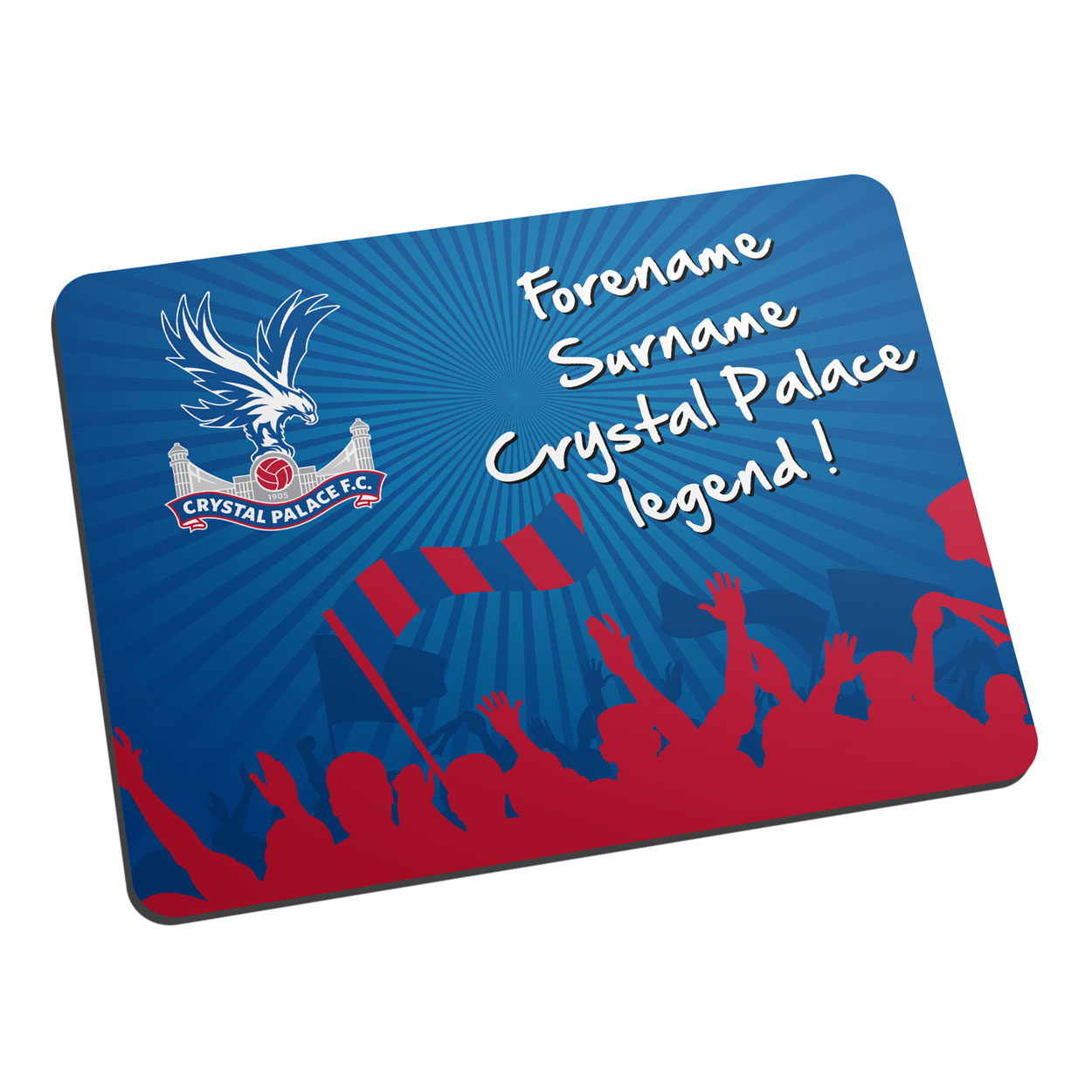 Crystal Palace FC Legend Mouse Mat