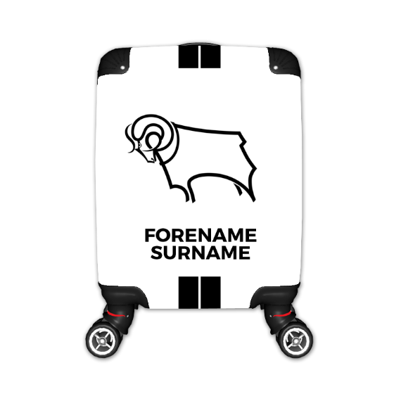 Derby County Stripe Kid's Suitcase