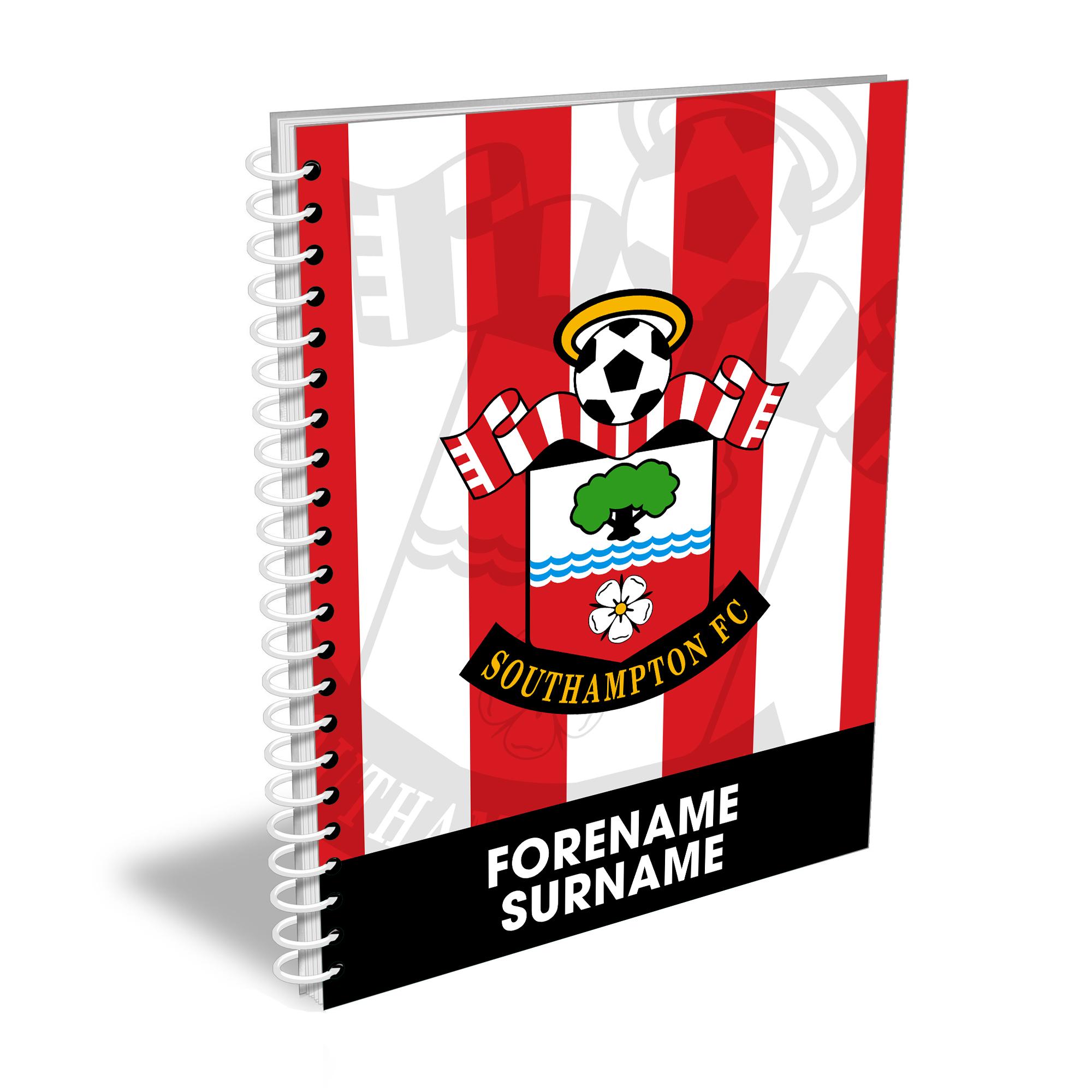 Southampton FC Bold Crest Notebook