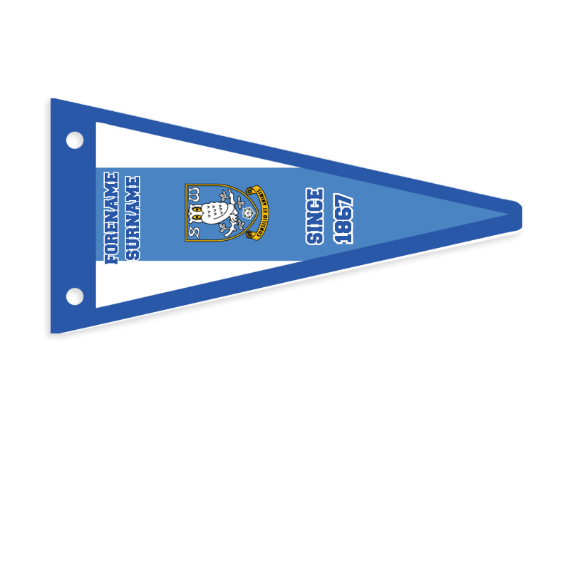 Sheffield Wednesday FC Stripes Pennant