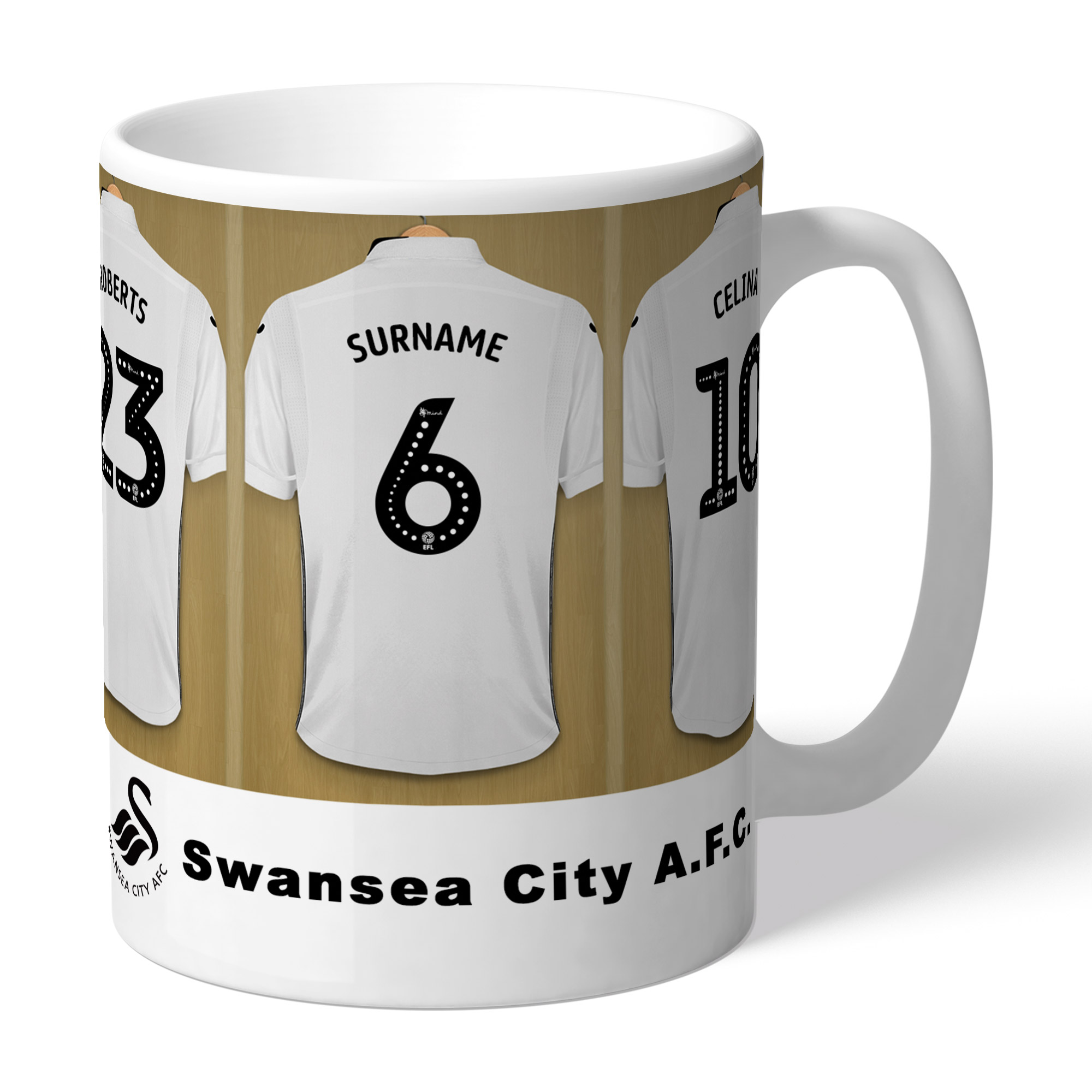 Swansea City AFC Dressing Room Mug