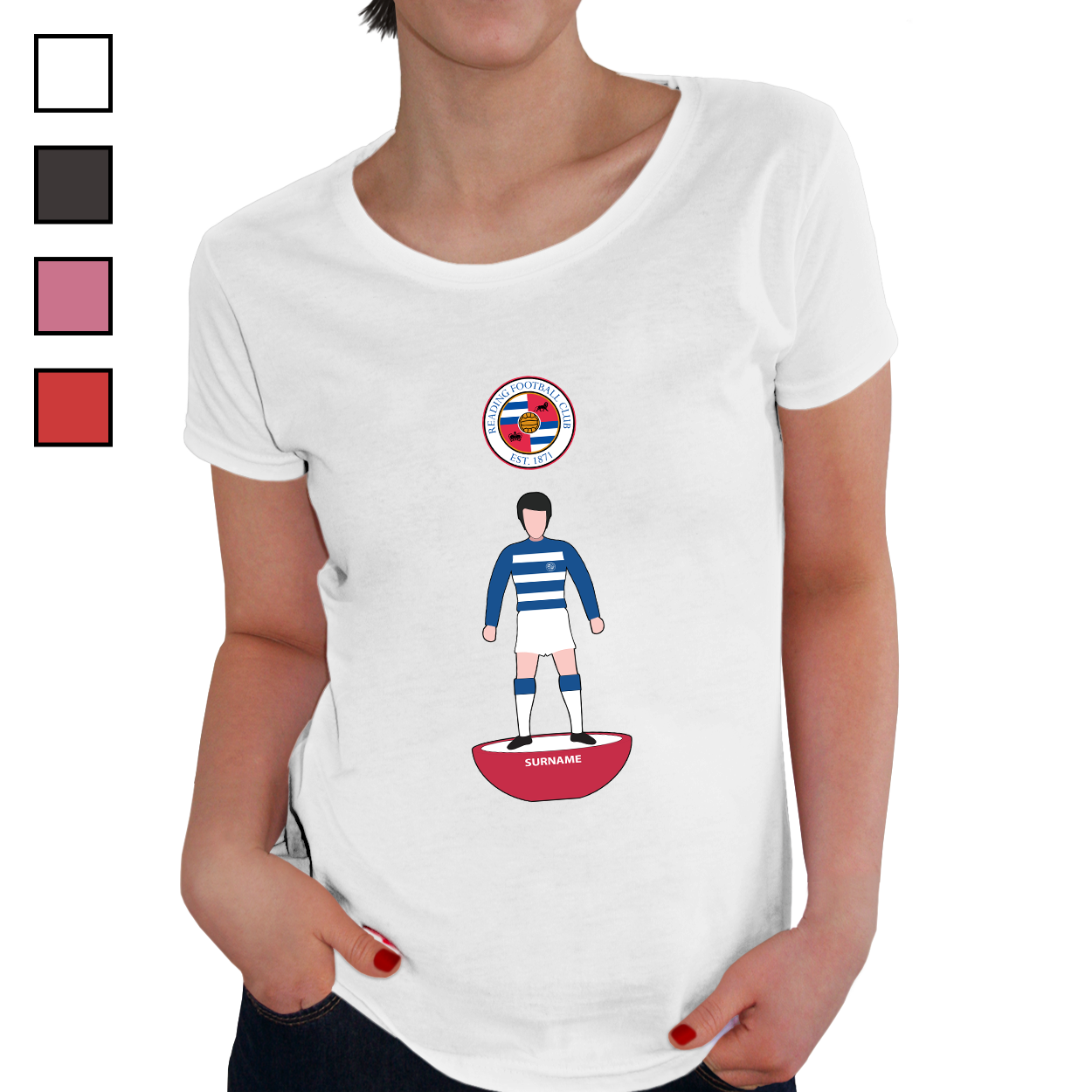Reading FC Player Figure Ladies T-Shirt