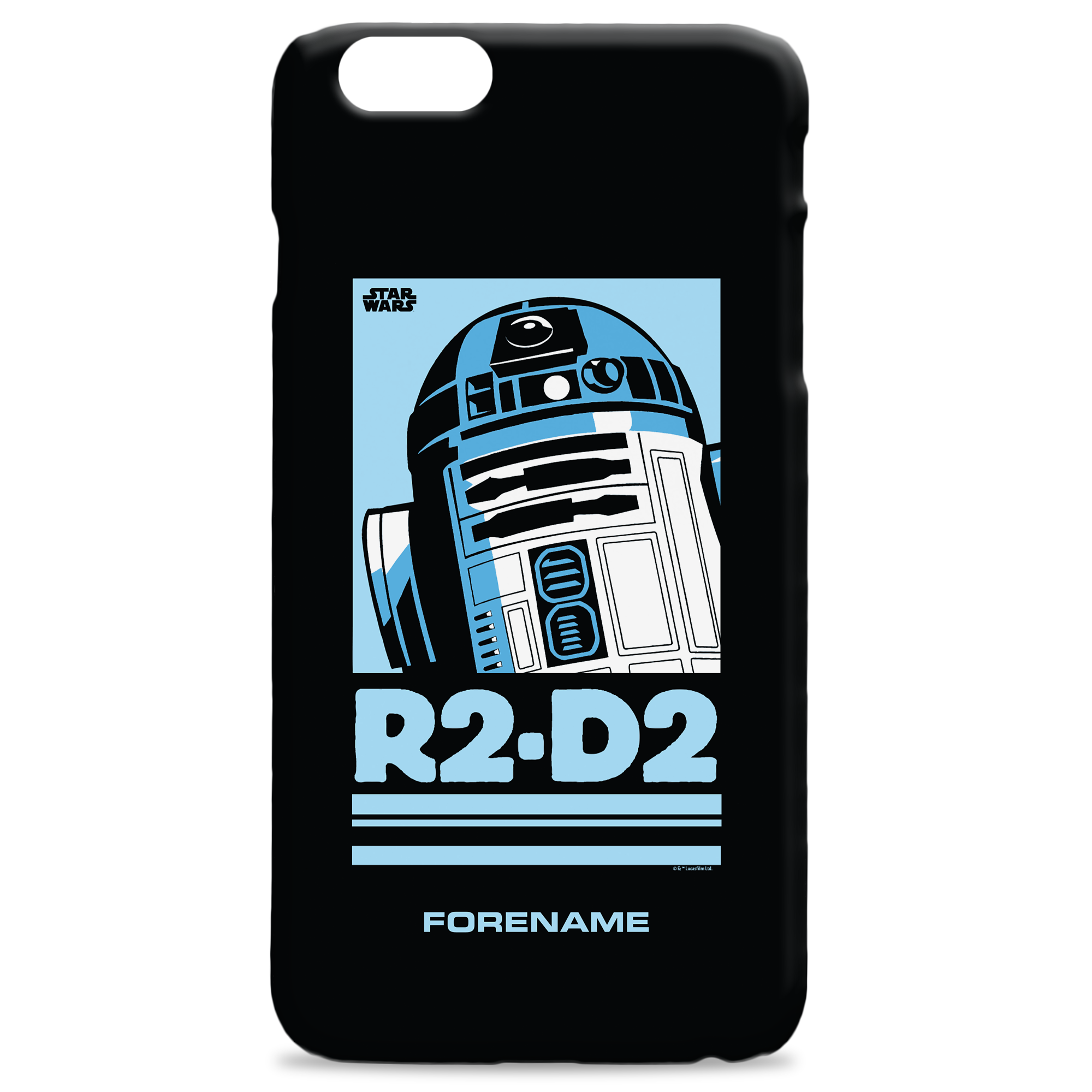 Star Wars R2 D2 Pop Art Phone Case