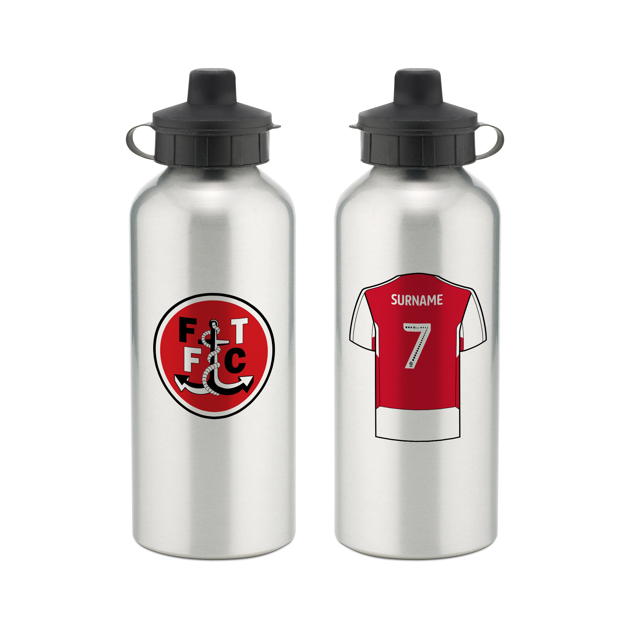 Fleetwood Town FC Aluminium Water Bottle