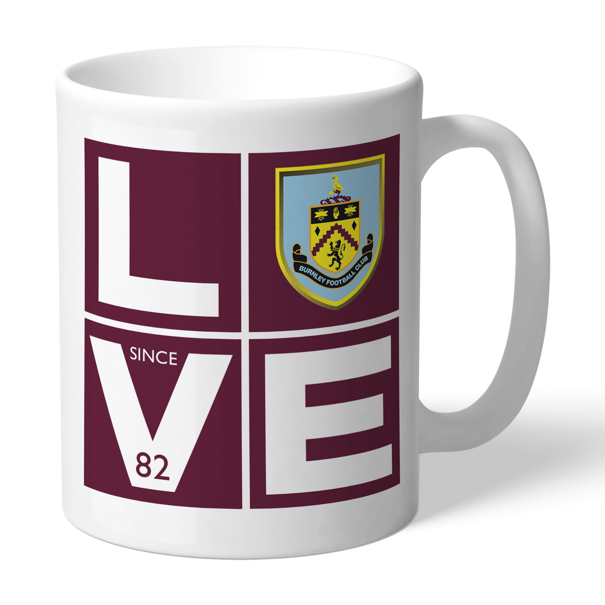 Burnley FC Love Mug