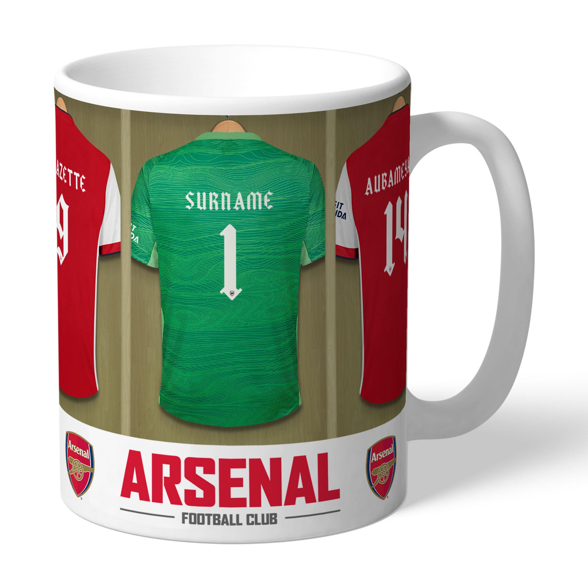 Arsenal FC Goalkeeper Dressing Room Mug