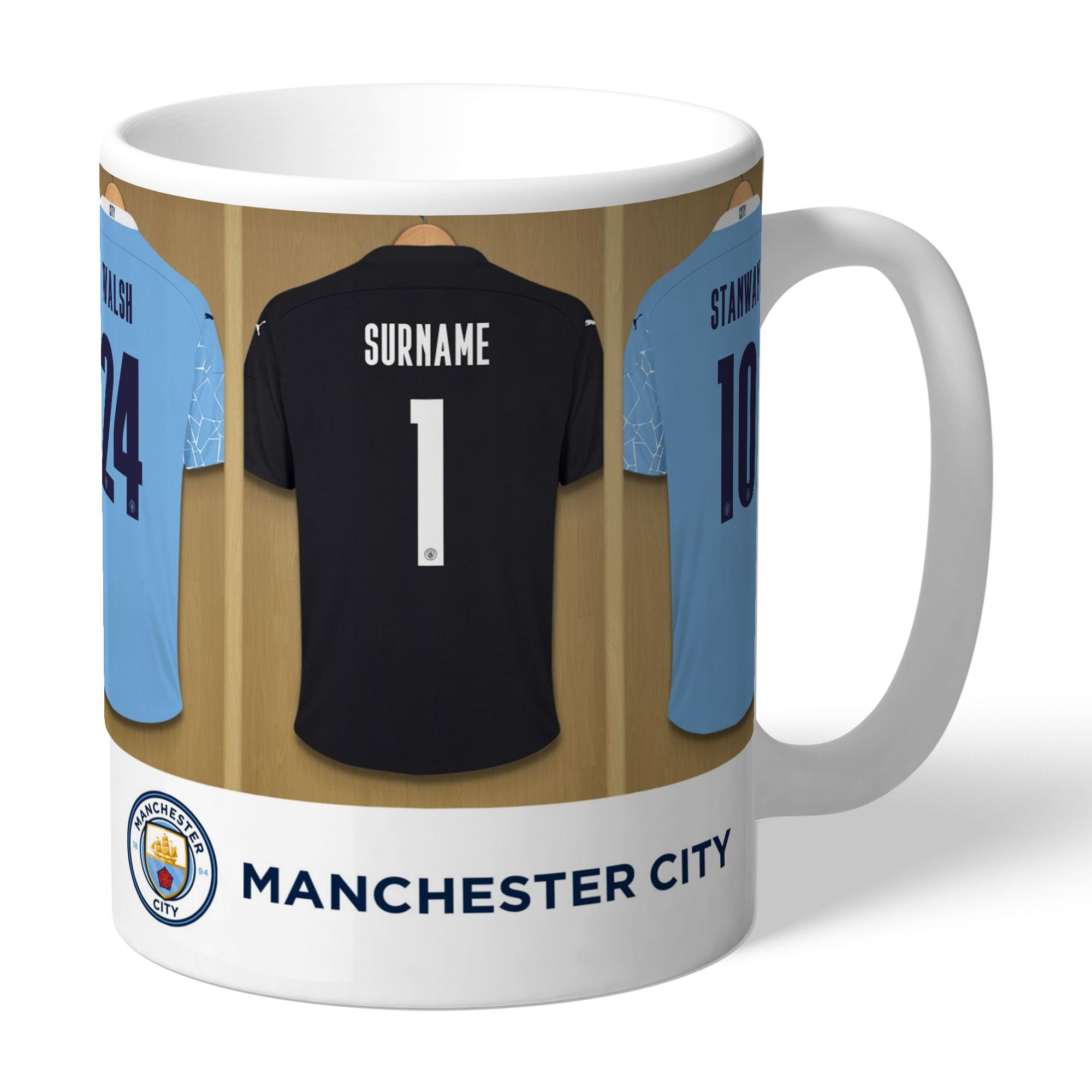 Manchester City FC Women's Team Goalkeeper Dressing Room Mug