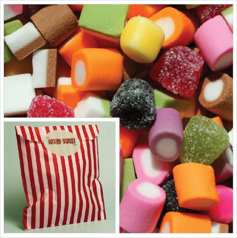 Dolly Mixtures Sweet Bag