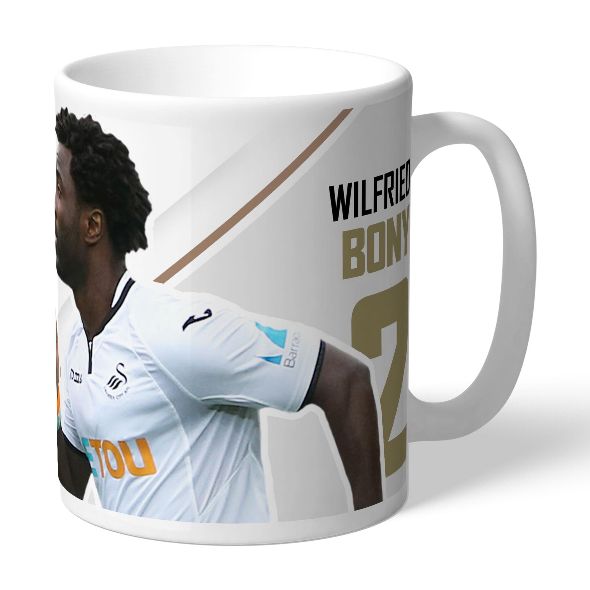 Swansea City AFC Bony Autograph Mug