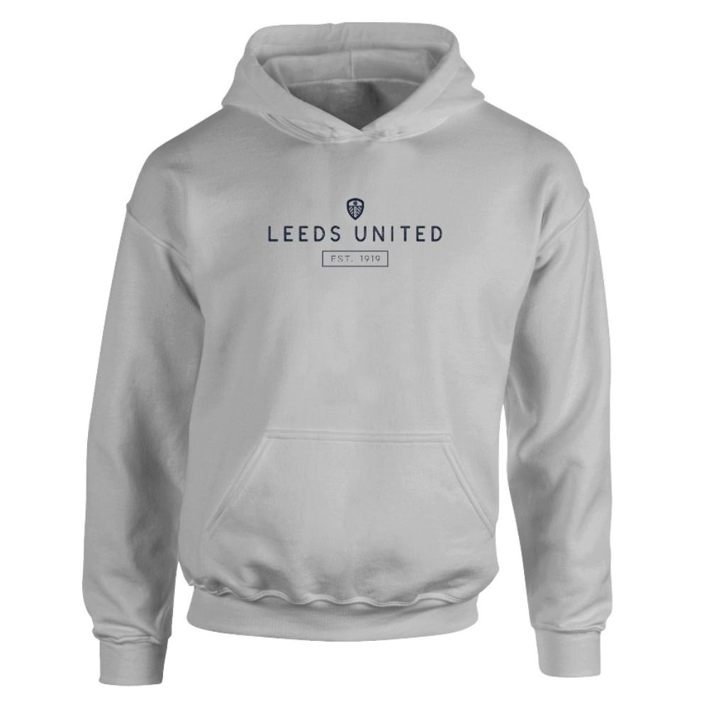 Leeds United FC Minimal Hoodie