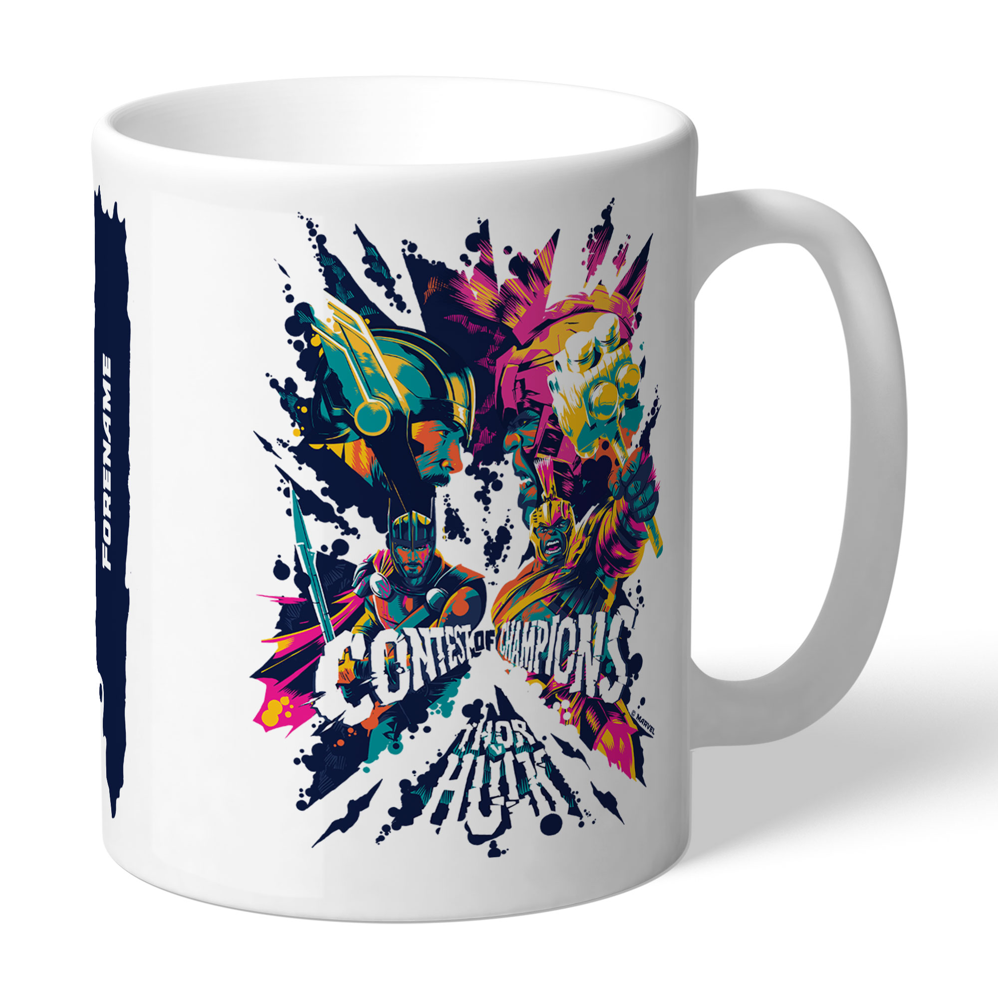 Marvel Thor Ragnarok Colour Badge Mug