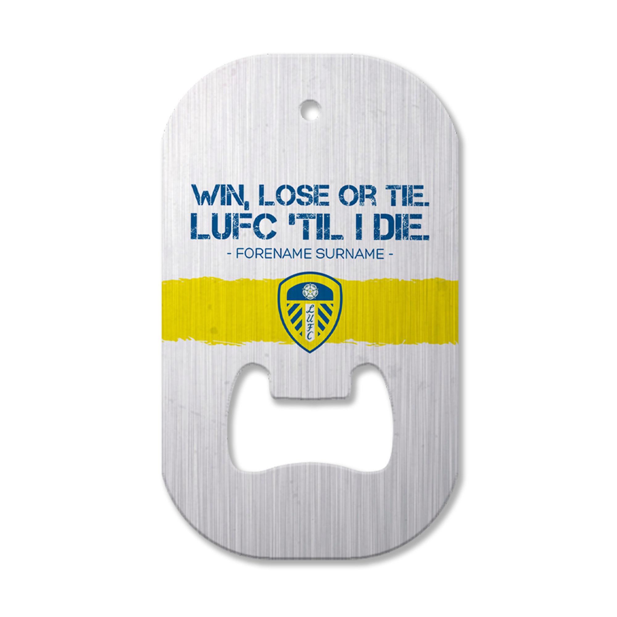 Leeds United FC 'Til I Die Compact Bottle Opener