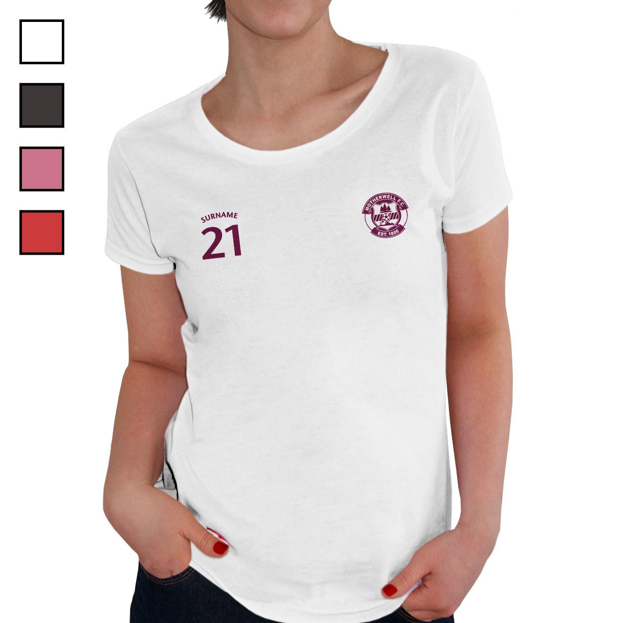 Motherwell FC Mens Sports T-Shirt