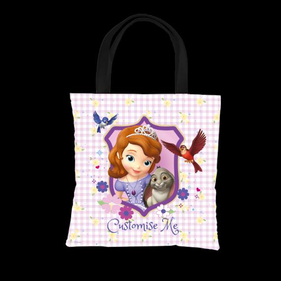 Disney Sofia The First Sofia And Clover Tote Bag