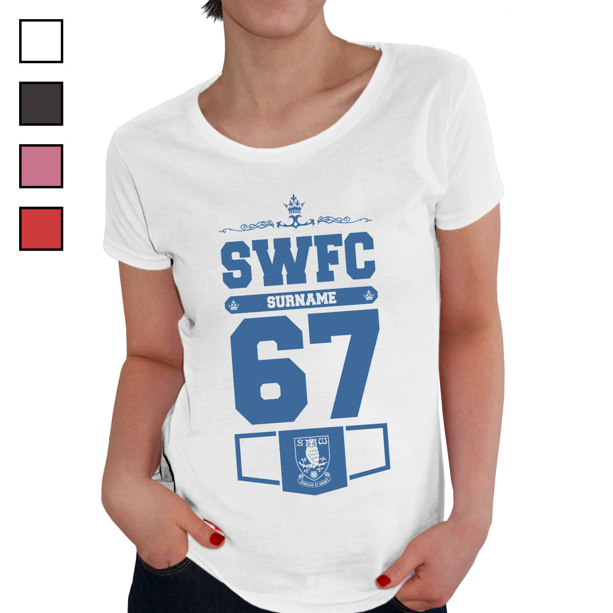 Sheffield Wednesday FC Ladies Club T-Shirt