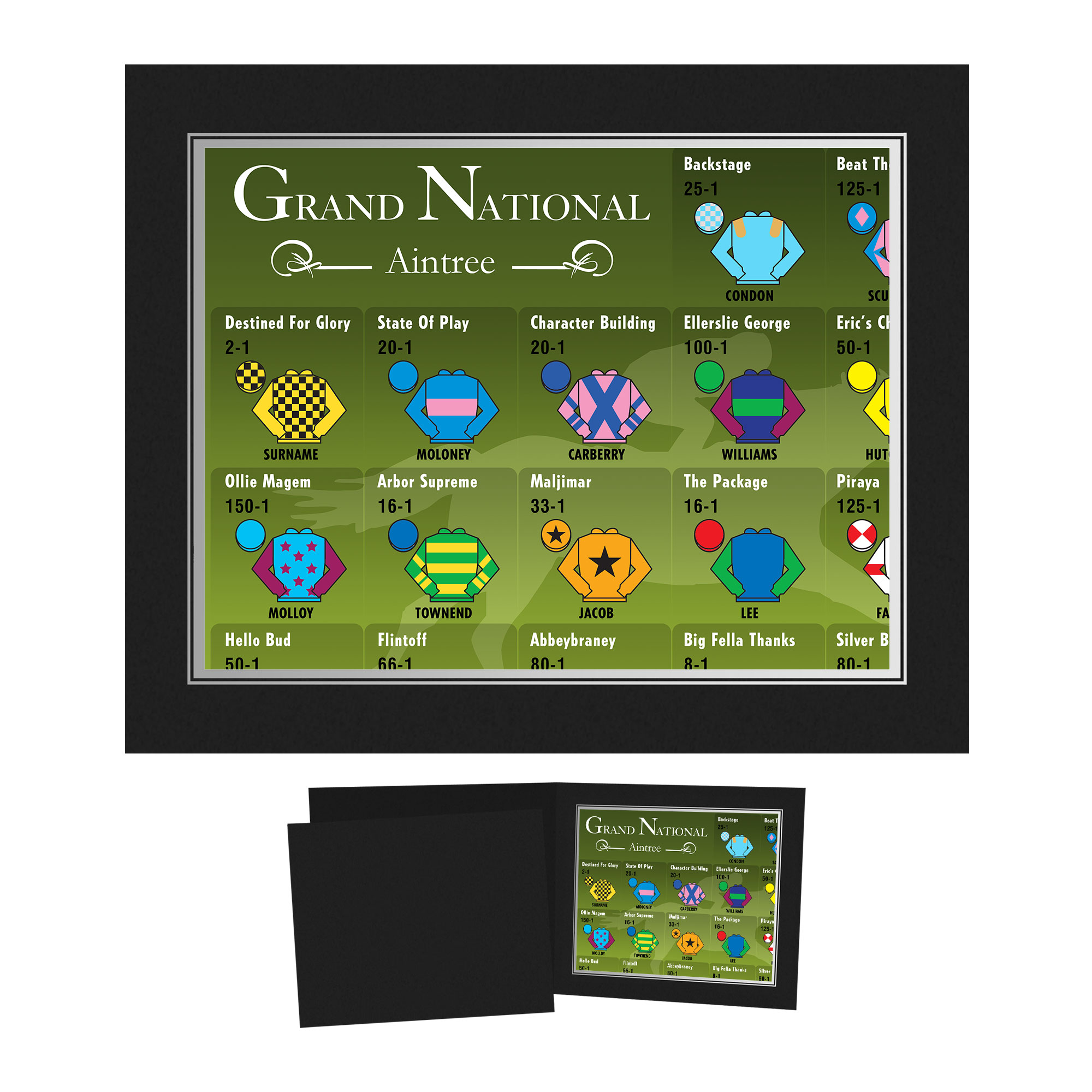 Personalised Grand National Photo Folder