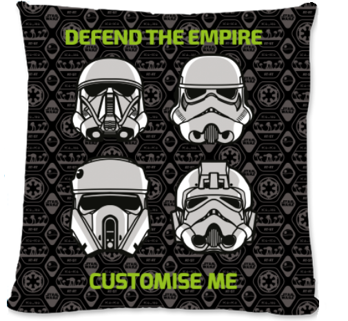 "Star Wars Rogue One ""Defend The Empire"" Small Fibre Cushion"