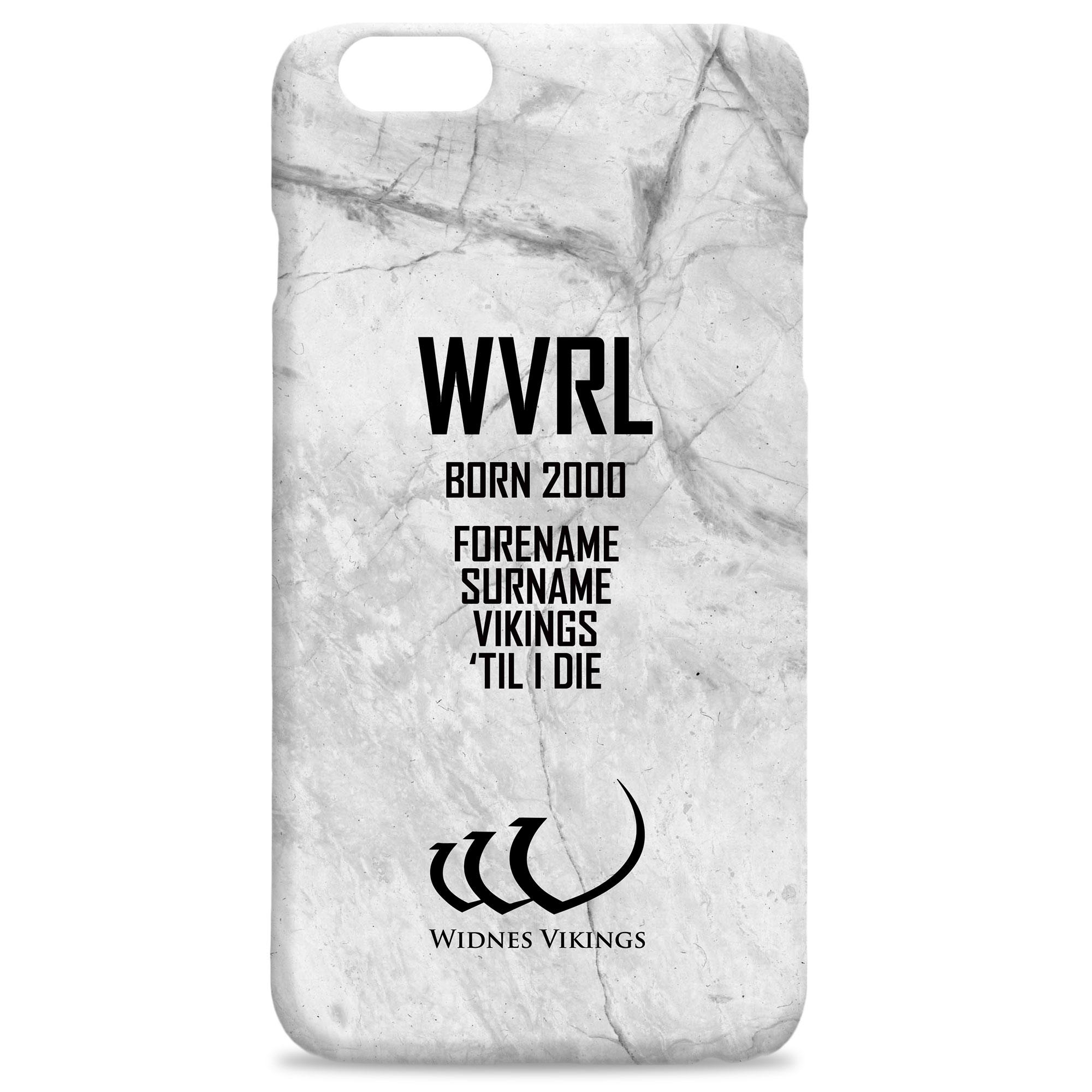 Widnes Vikings 'Til I Die Hard Back Phone Case